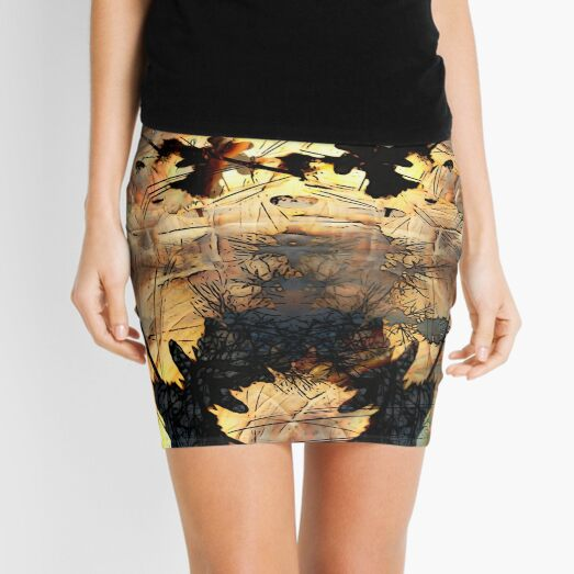 Dancing Dawn Driveway Mini Skirt