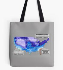 Emotional Weather Report Tote Bag
