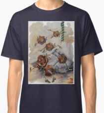 John R. Neill - Personified Muffins Tumbling Out Of Steam. Child portrait: cute baby, kid, children, pretty angel, child, kids, lovely family, boys and girls, boy and girl, mom mammy mam, childhood Classic T-Shirt