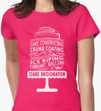 Cake Baking Women's Fitted T-Shirt