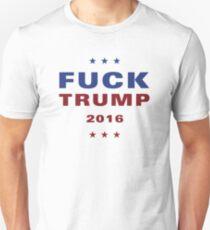 FUCK TRUMP Logo - Stars Unisex T-Shirt