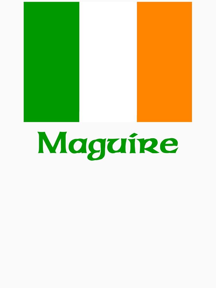 Maguire Irish Flag by IrishArms