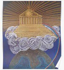Berg Olymp Poster