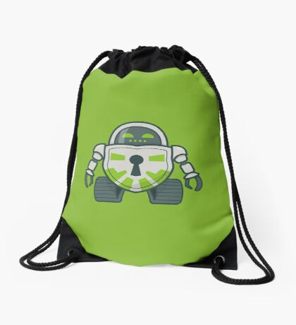 Cryptobot Drawstring Bag