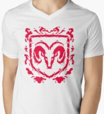 Ramblot (red) Mens V-Neck T-Shirt
