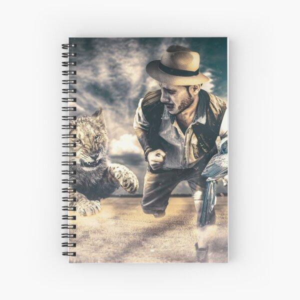 Mind  I  Mente Spiral Notebook