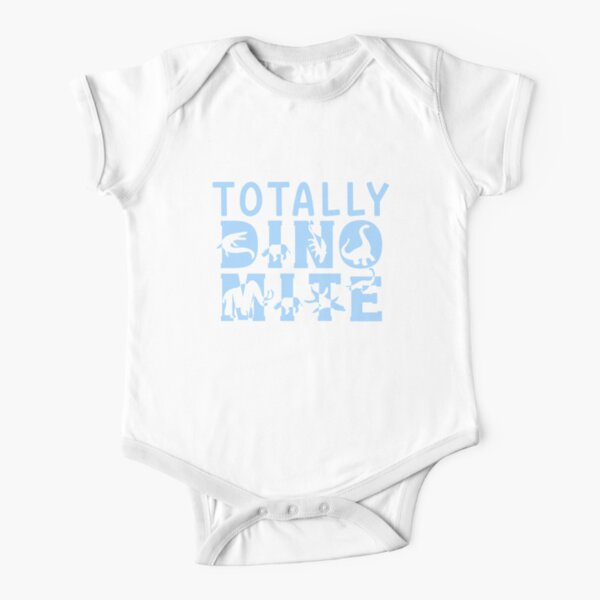 Totally Dino-Mite! Short Sleeve Baby One-Piece