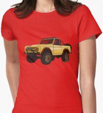 Yellow Dog Bronco T-Shirt!!! Women's Fitted T-Shirt