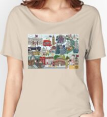 Queen's London Day Out Women's Relaxed Fit T-Shirt
