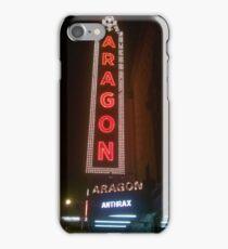 Aragon Ballroom Anthrax iPhone Case/Skin