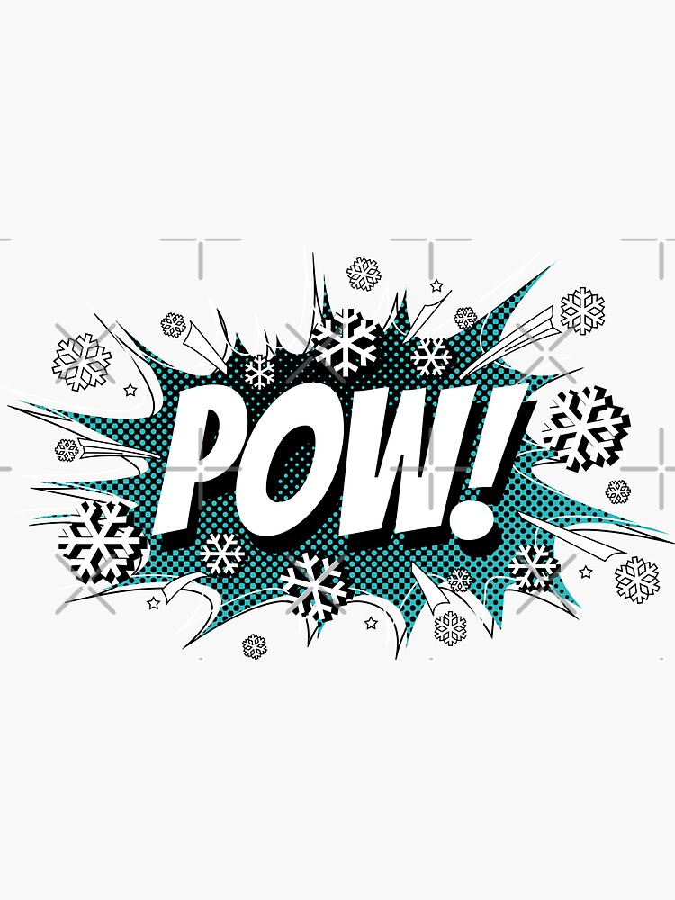 POW! Snow, the deeper, the better. by posay