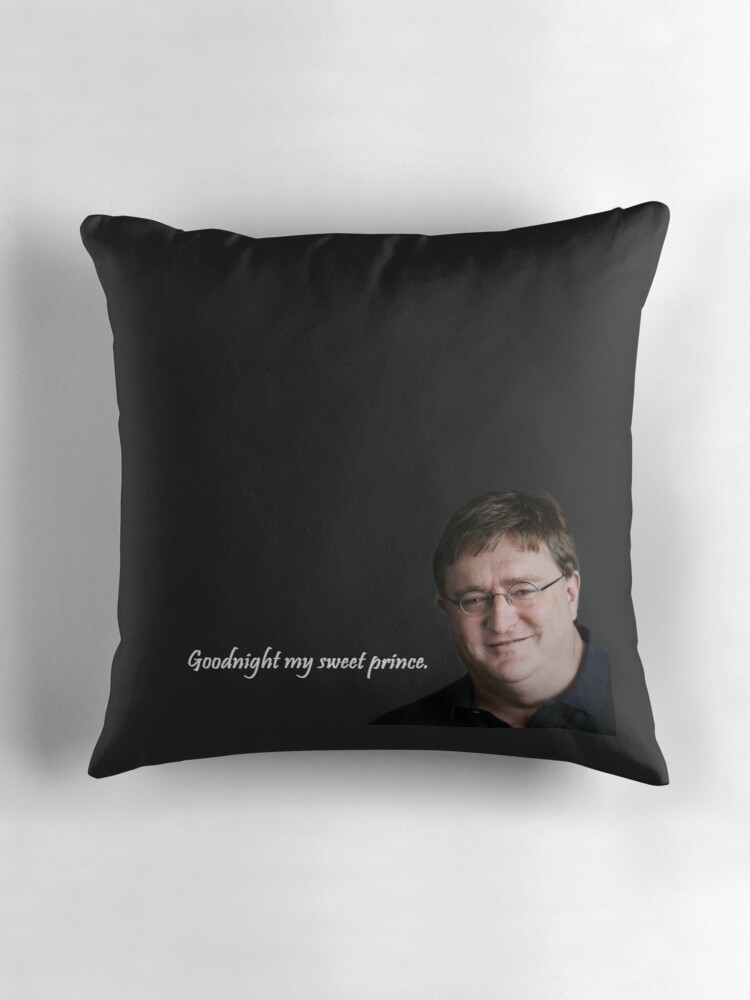 quotgabe newell sweet prince pillowquot throw pillows by