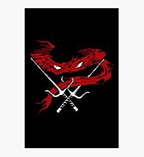 Red Wrath Photographic Print