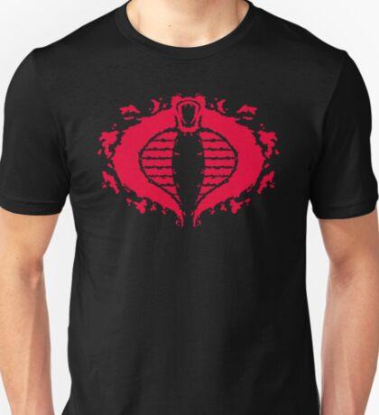 Cobrorschach  (red) T-Shirt