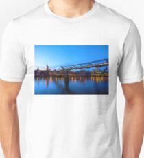 Impressions of London - Millennium Bridge and St. Paul's Cathedral Unisex T-Shirt