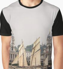 Greenwich Tall Ships Graphic T-Shirt