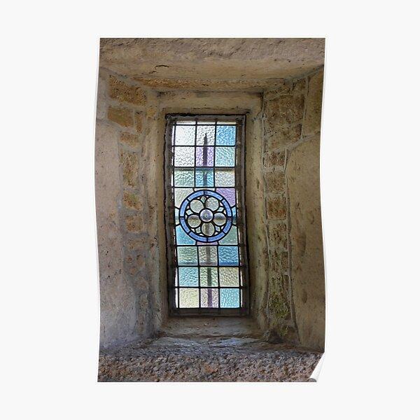 Porch window, Headcorn Village Poster