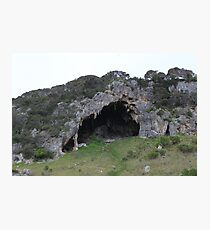 Bat Cave Photographic Print