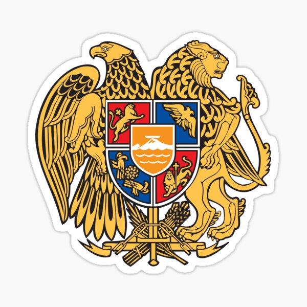 Armenia Coats of Arms Sticker