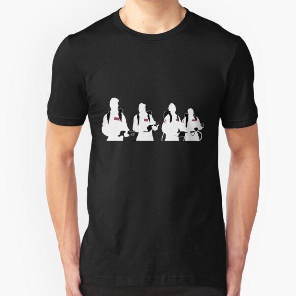 The Showdown (Dark version) Slim Fit T-Shirt