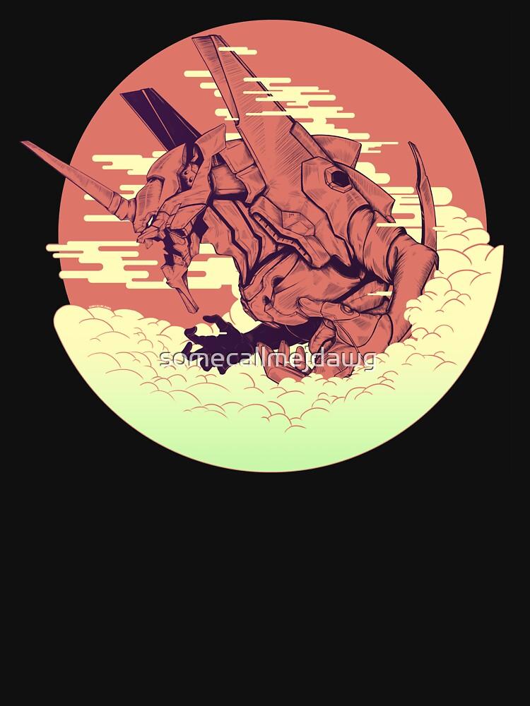 Einheit 01 [Neon Genesis Evangelion] von somecallmejdawg