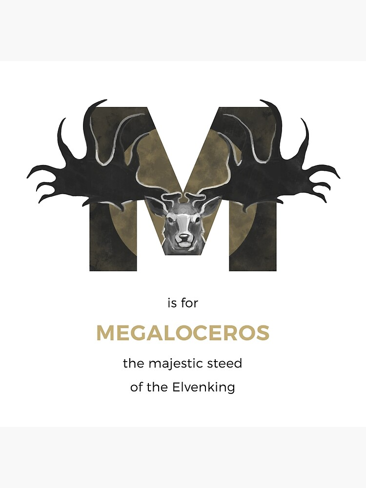 M is for Megaloceros by franzanth