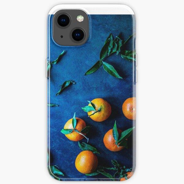 Orangen Telefonhülle iPhone Flexible Hülle