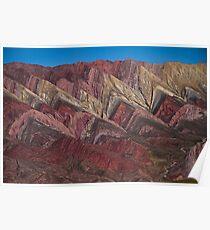 Hornocal Mountain Range Poster