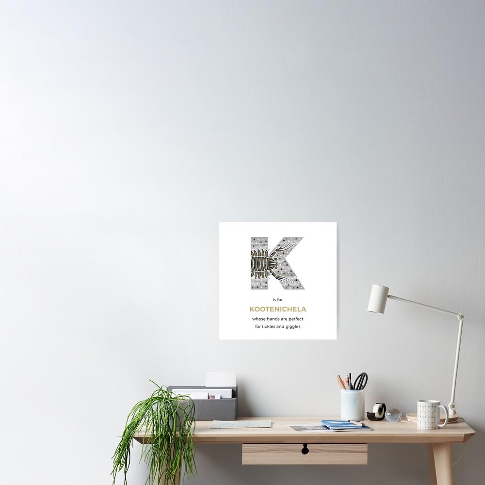 K is for Kootenichela Poster