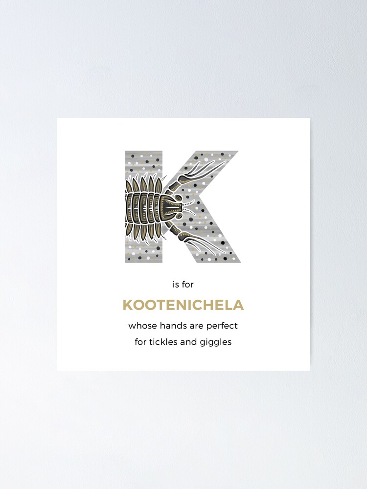 Alternate view of K is for Kootenichela Poster