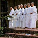 Nuns at Prayer by Werner Padarin
