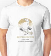 Q is for Quetzalcoatlus Unisex T-Shirt