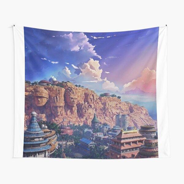 Sunset Moment Of Konoha Tapestry