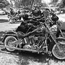 Bike Row by Chet  King