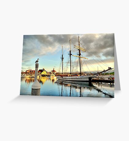 Tole Mour and Rainbow Harbor Greeting Card