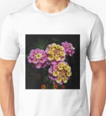 Pink and Yellow Blooms T-Shirt