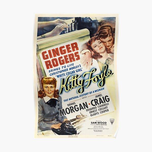 Kitty Foyle vintage Poster