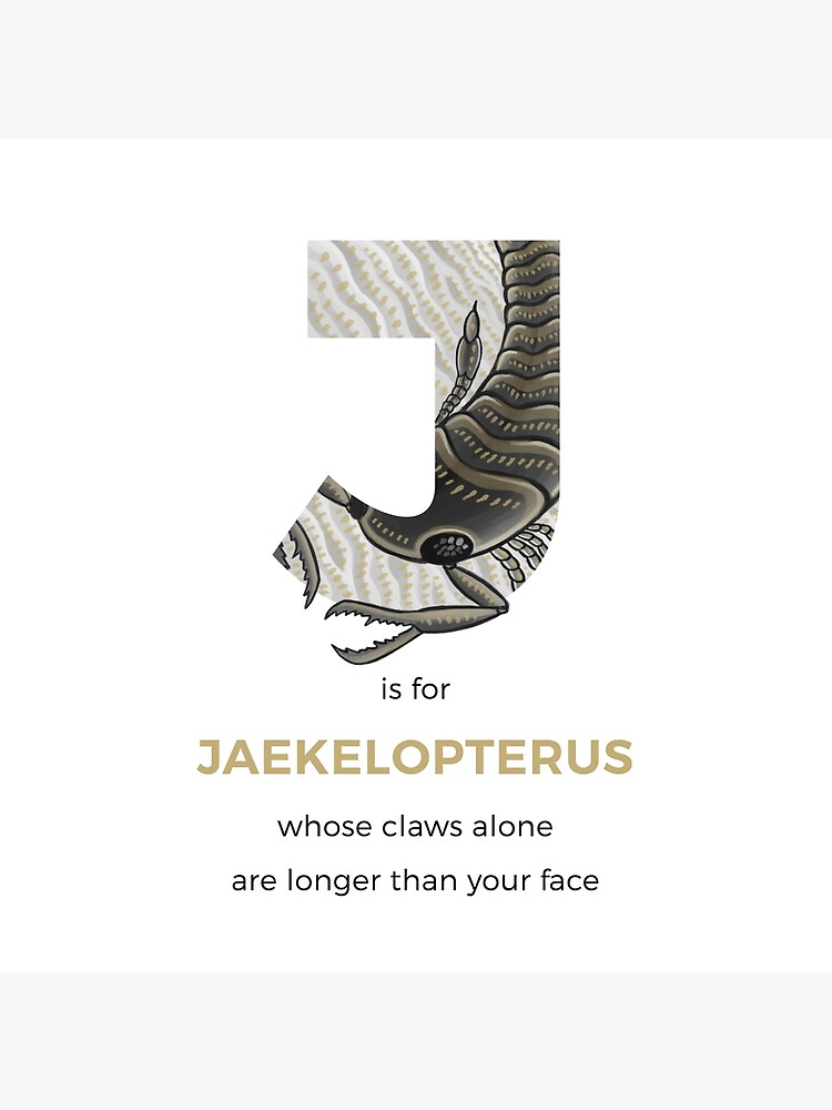 J is for Jaekelopterus by franzanth