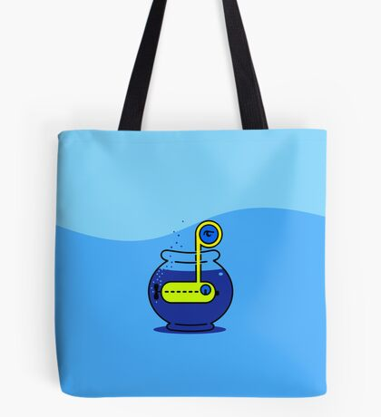 Yellow Submarine in a Bowl VRS2 Tote Bag