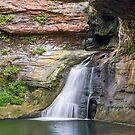 Hocking River Falls by Kenneth Keifer