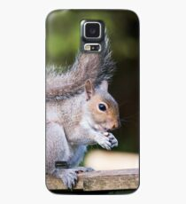 Squirrel On Fence 3 Case/Skin for Samsung Galaxy