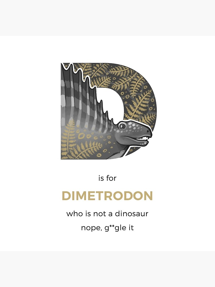 D is for Dimetrodon by franzanth
