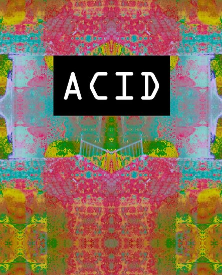 Acid Glitch Print Design by randomfrequency