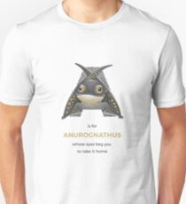 A is for Anurognathus Unisex T-Shirt