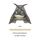 A is for Anurognathus by Franz Anthony
