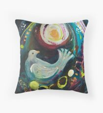 Night Dove Throw Pillow