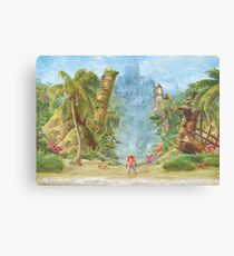 Sanity Beach  Canvas Print