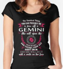 Camiseta entallada de cuello redondo Géminis - La cosa más tonta