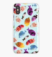 Fish shaped Flowers iPhone Case/Skin