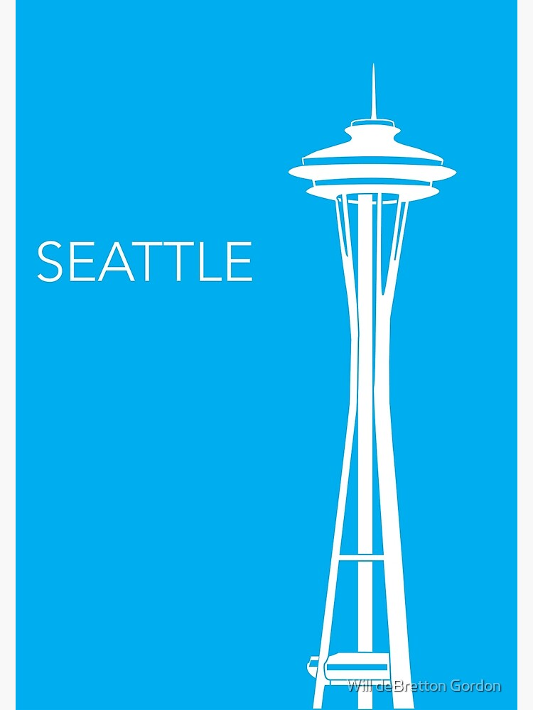 Seattle by PostArt